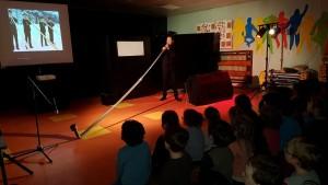spectacle pour enfant recyclage