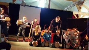 spectacle pour enfants concert Afrique