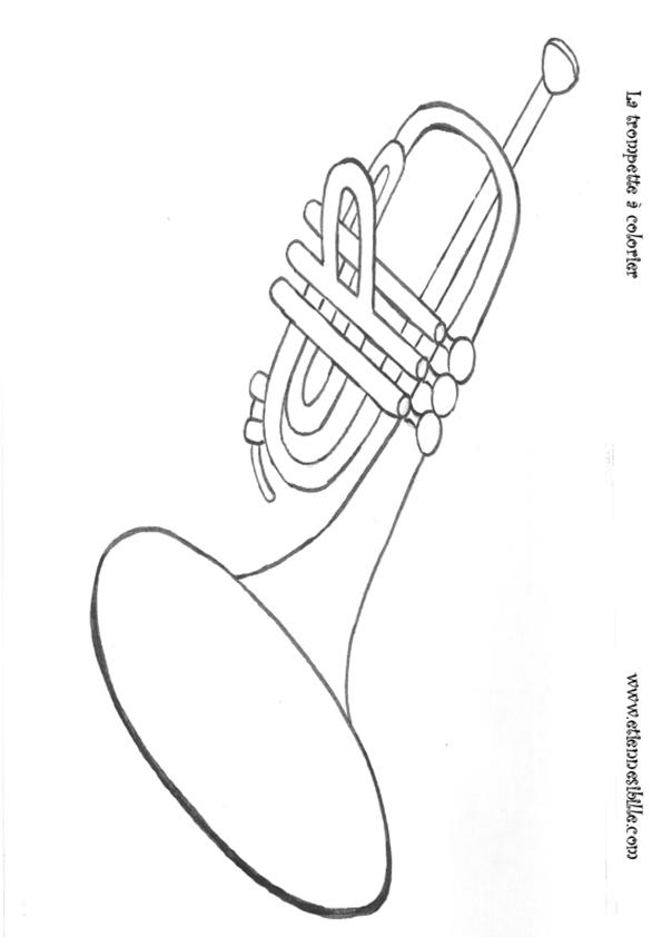 coloriage-trompette-Etienne-SIBILLE